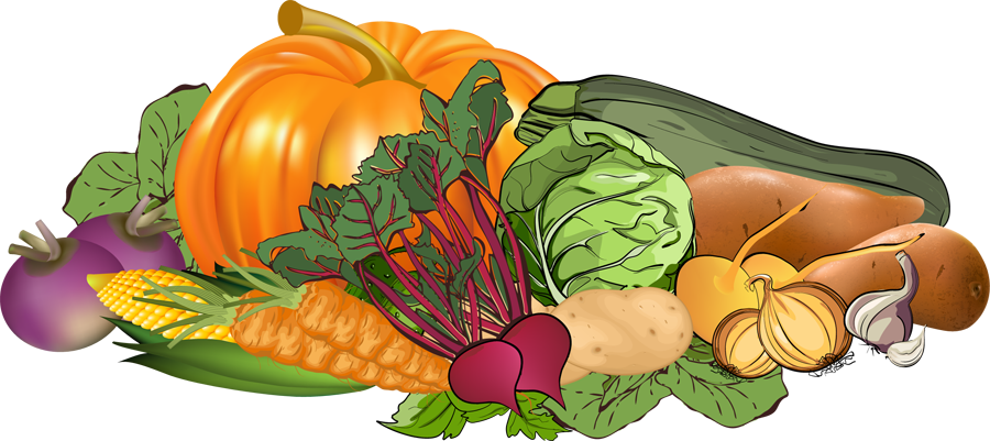 Vegetables clipart. Free fall harvest cliparts
