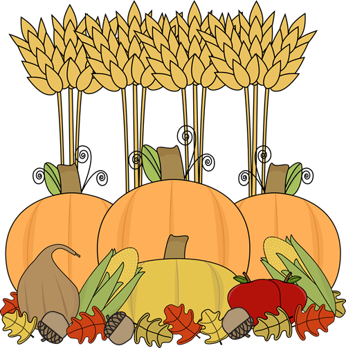 Harvest clipart harvest party. Cute
