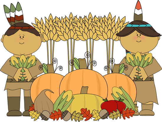 India clipart harvest festival. Indians and thanksgiving clip