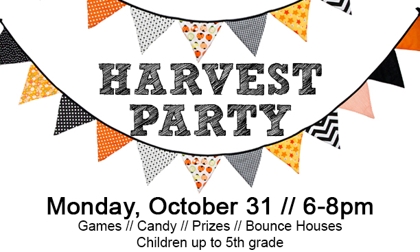 Harvest clipart harvest party. Bellevue christian center robin