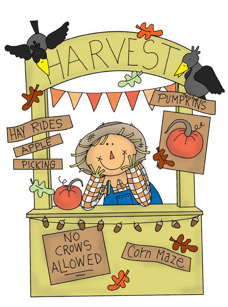 Harvest clipart scarecrow head. Best fall clip