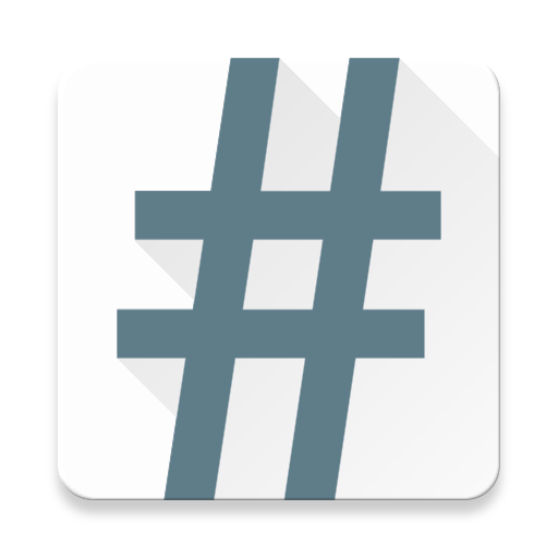 Autohash apps on google. Hashtag 3d png vector black and white download