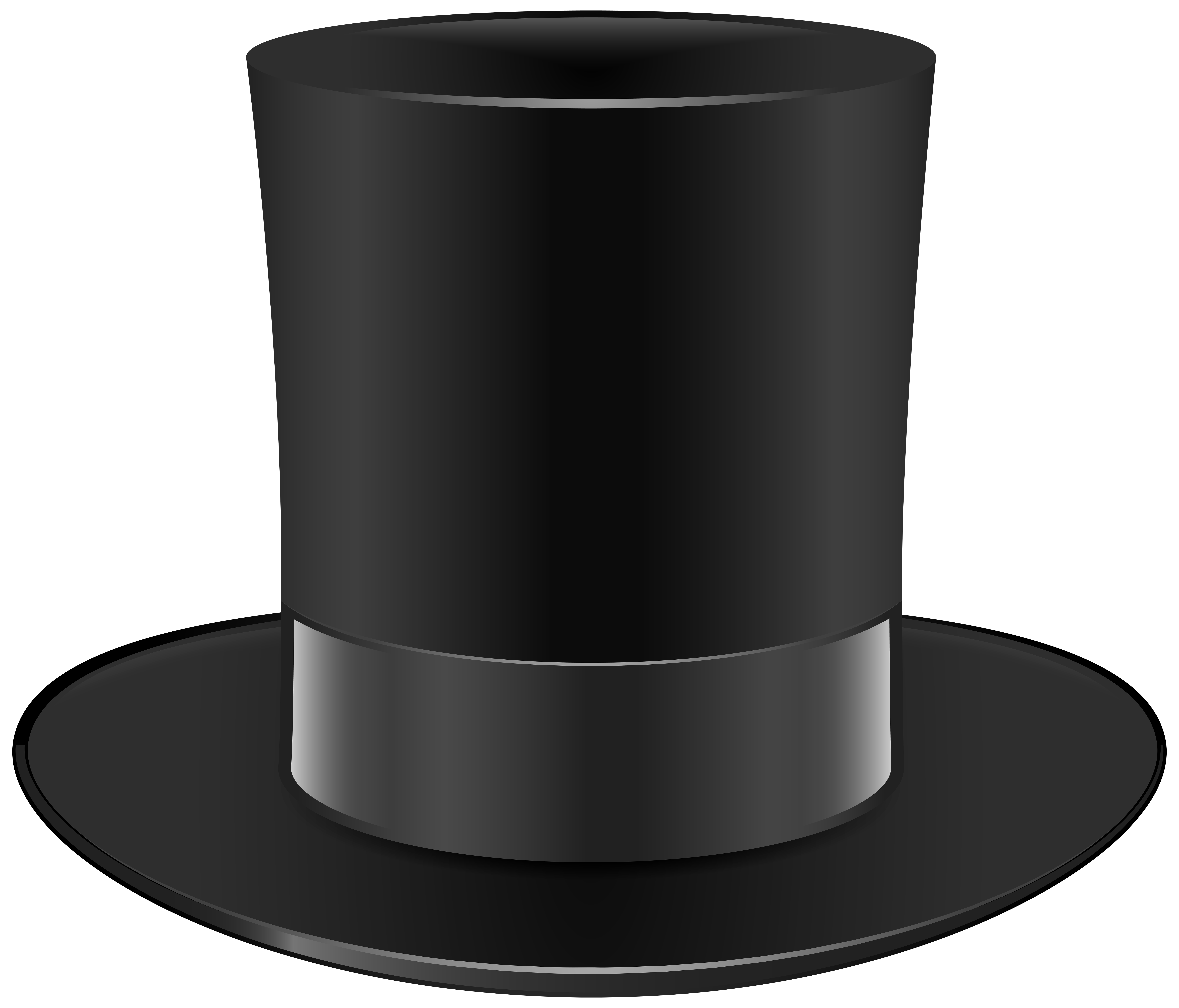 vector snowman black hat