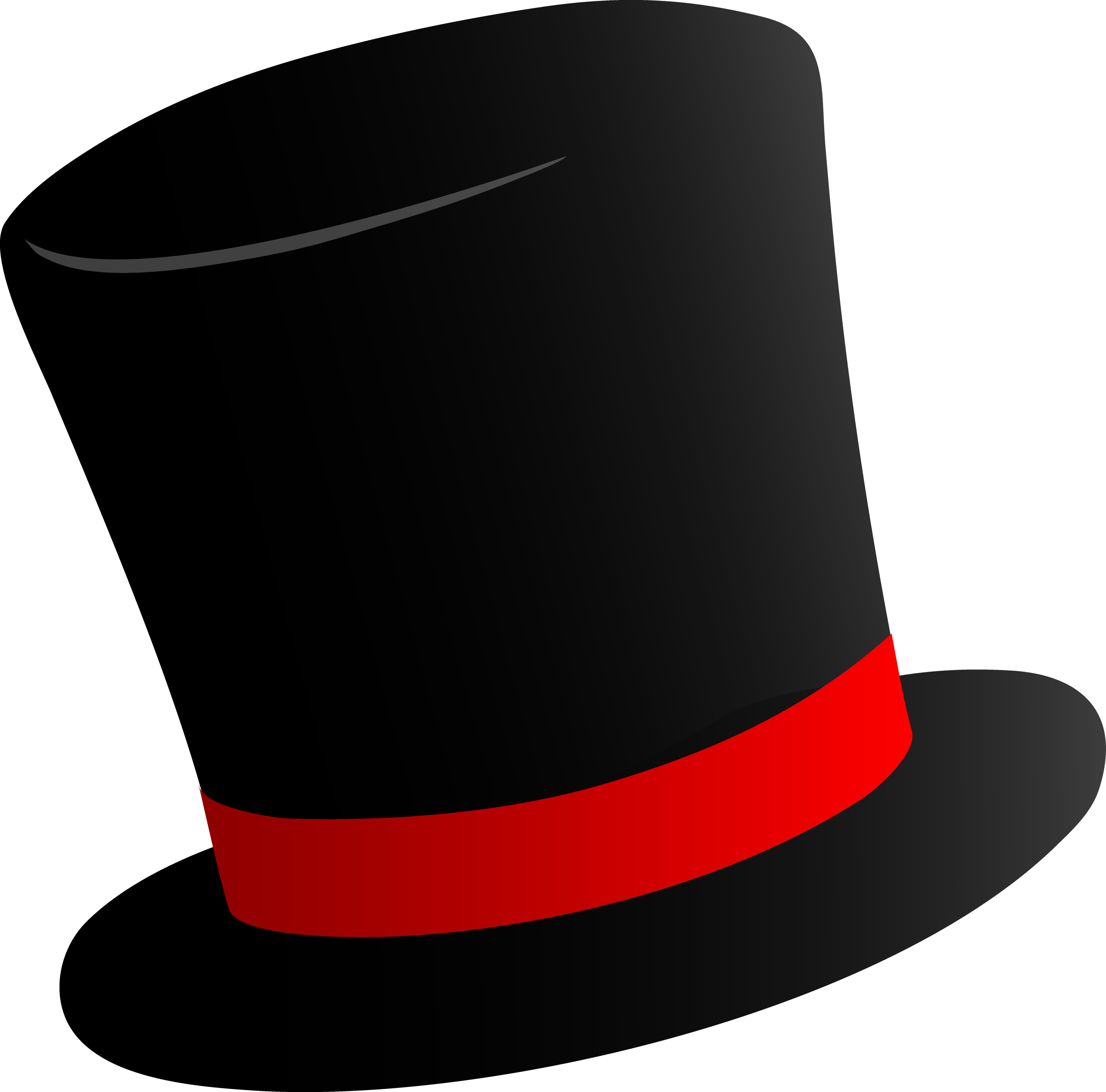 Hat svg snow man. Black top png image