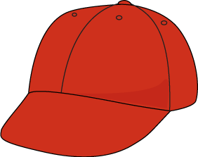 Hat clipart. Clip art images red