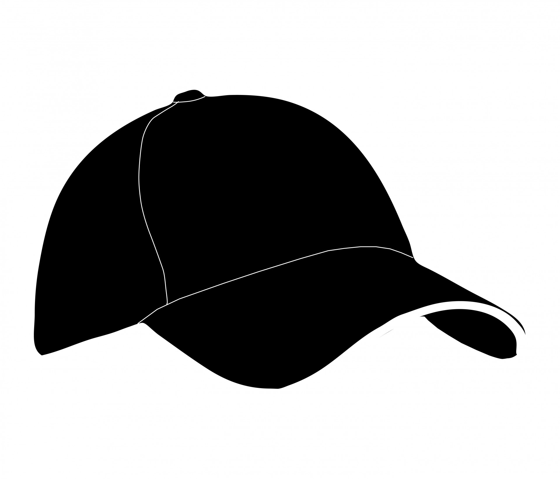 Hat clipart. Baseball free stock photo