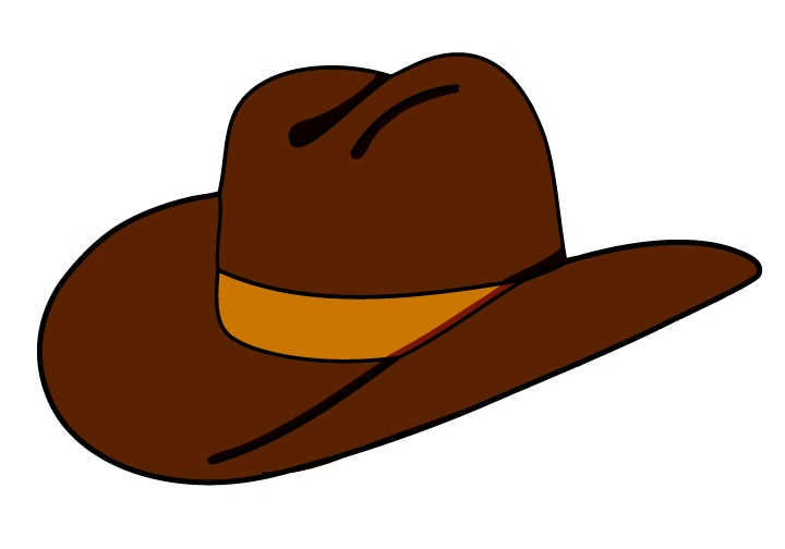 Hat clipart. Texas