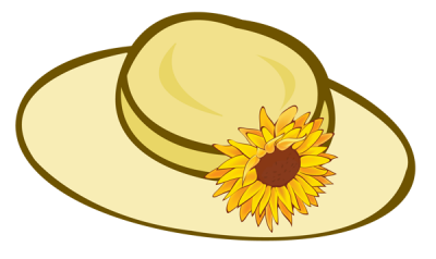 Hats clipart summer. Hat page clipartaz free