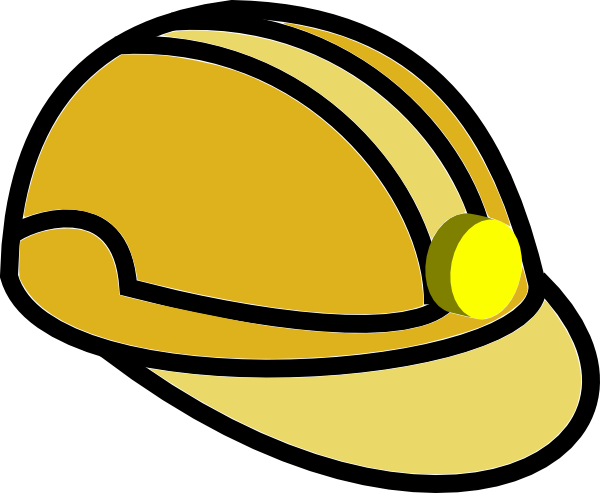 Hat clipart miner. S