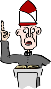 Hat clipart priest. Clip art at clker