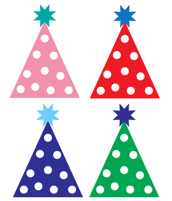 Hats clipart newspaper. Free party hat first