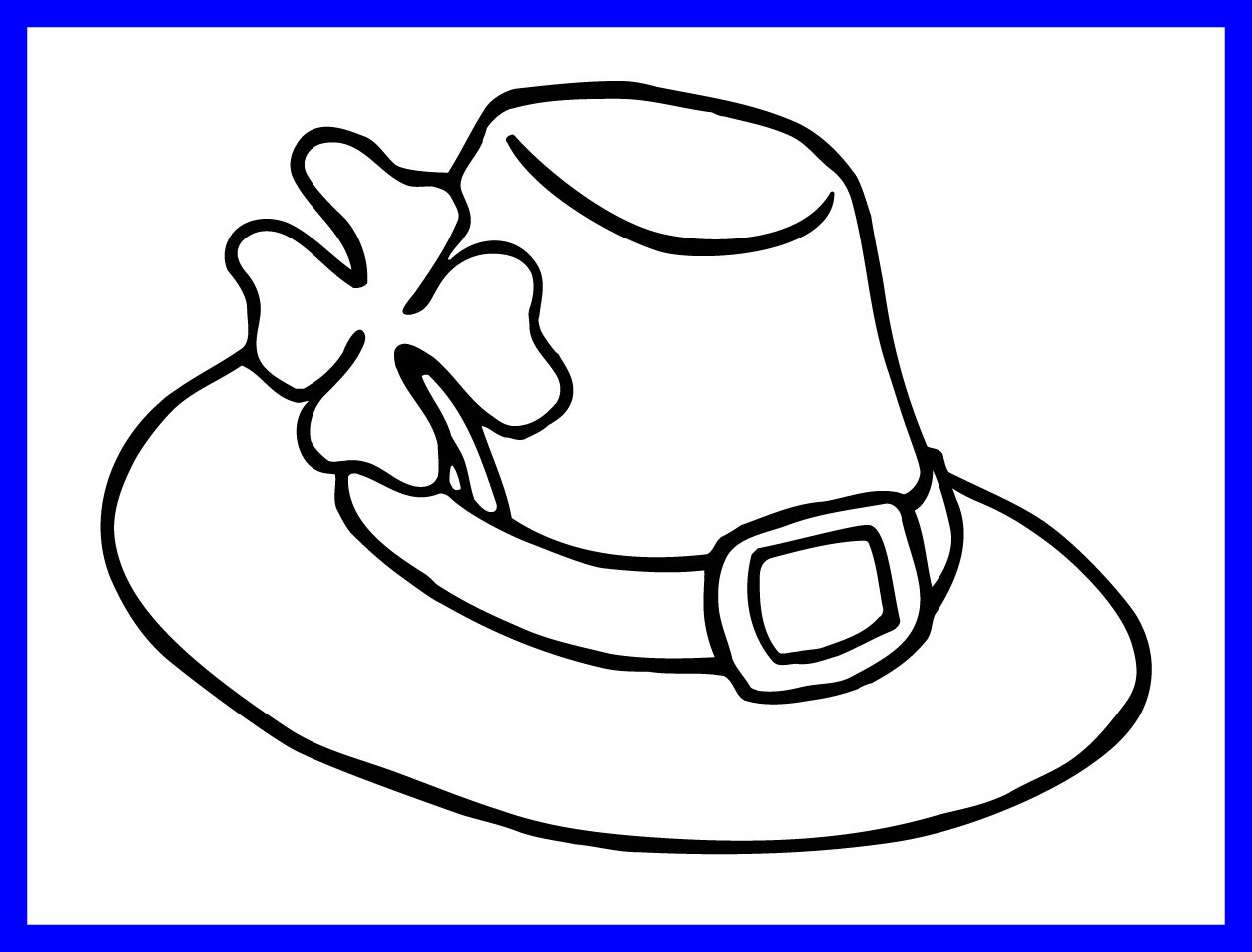Hat clipart printable. Stunning coloring pencil and