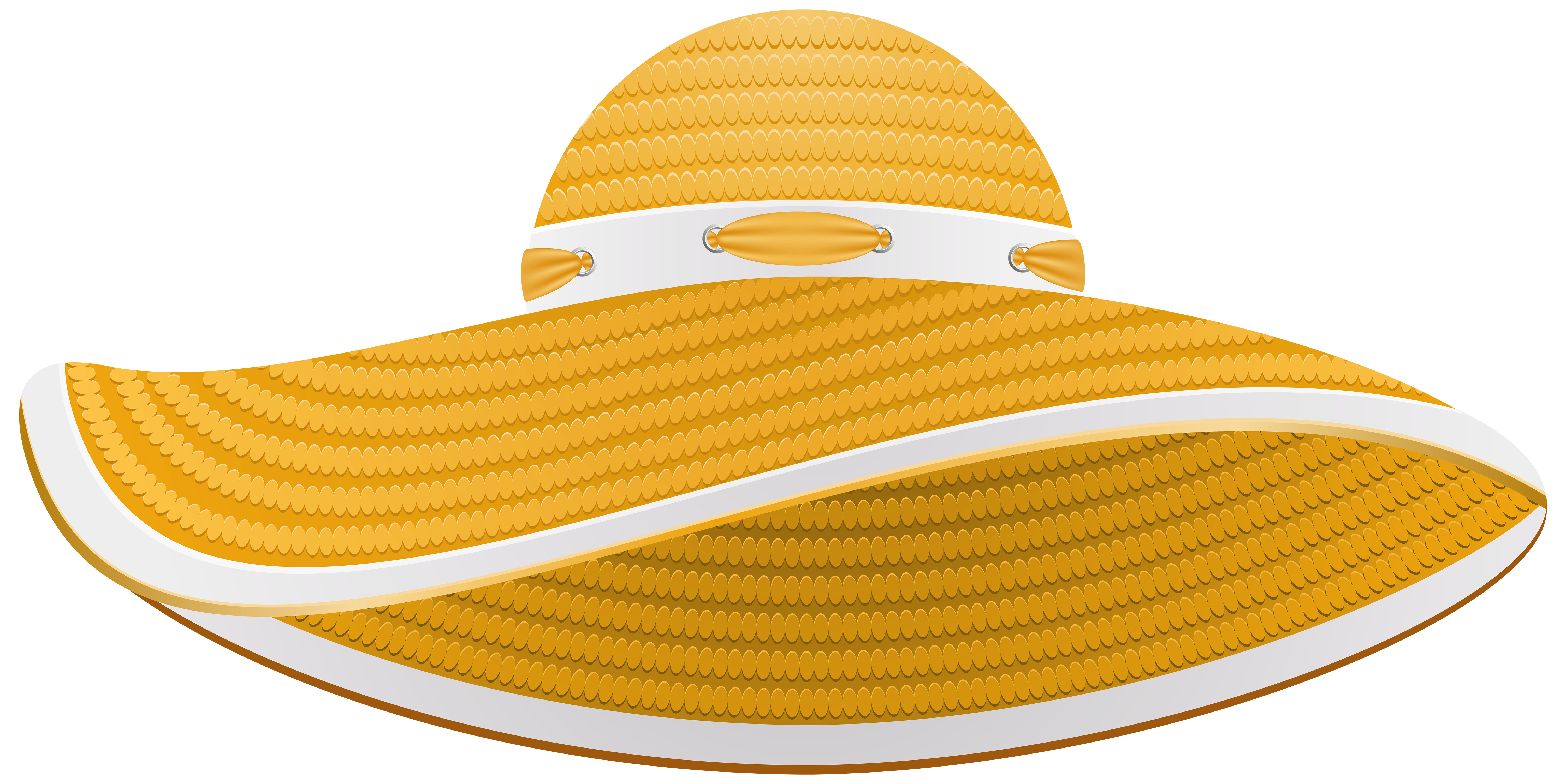 Summer hat png. Yellow female transparent clip
