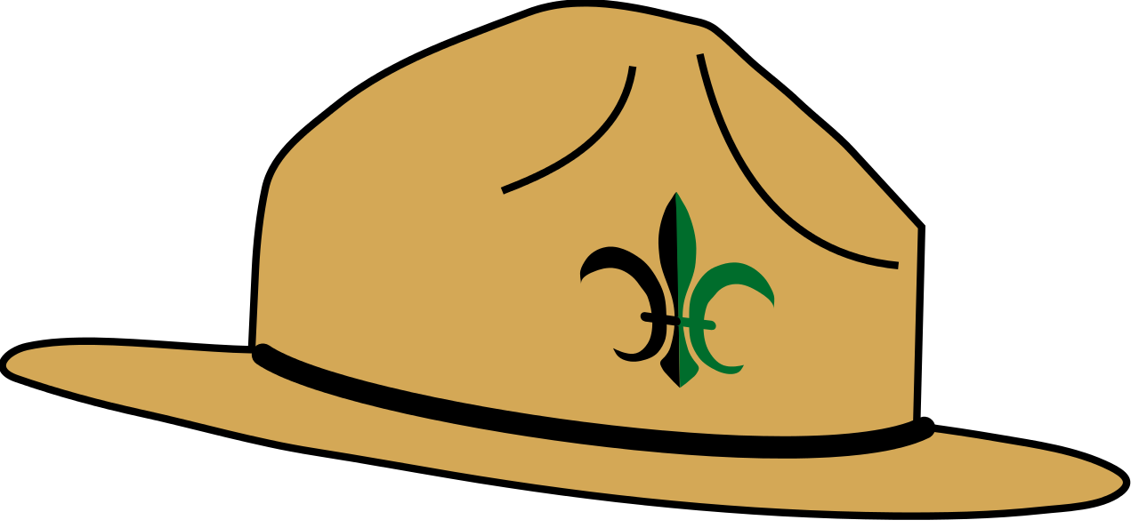 Hat svg. File wikiproject scouting campaign