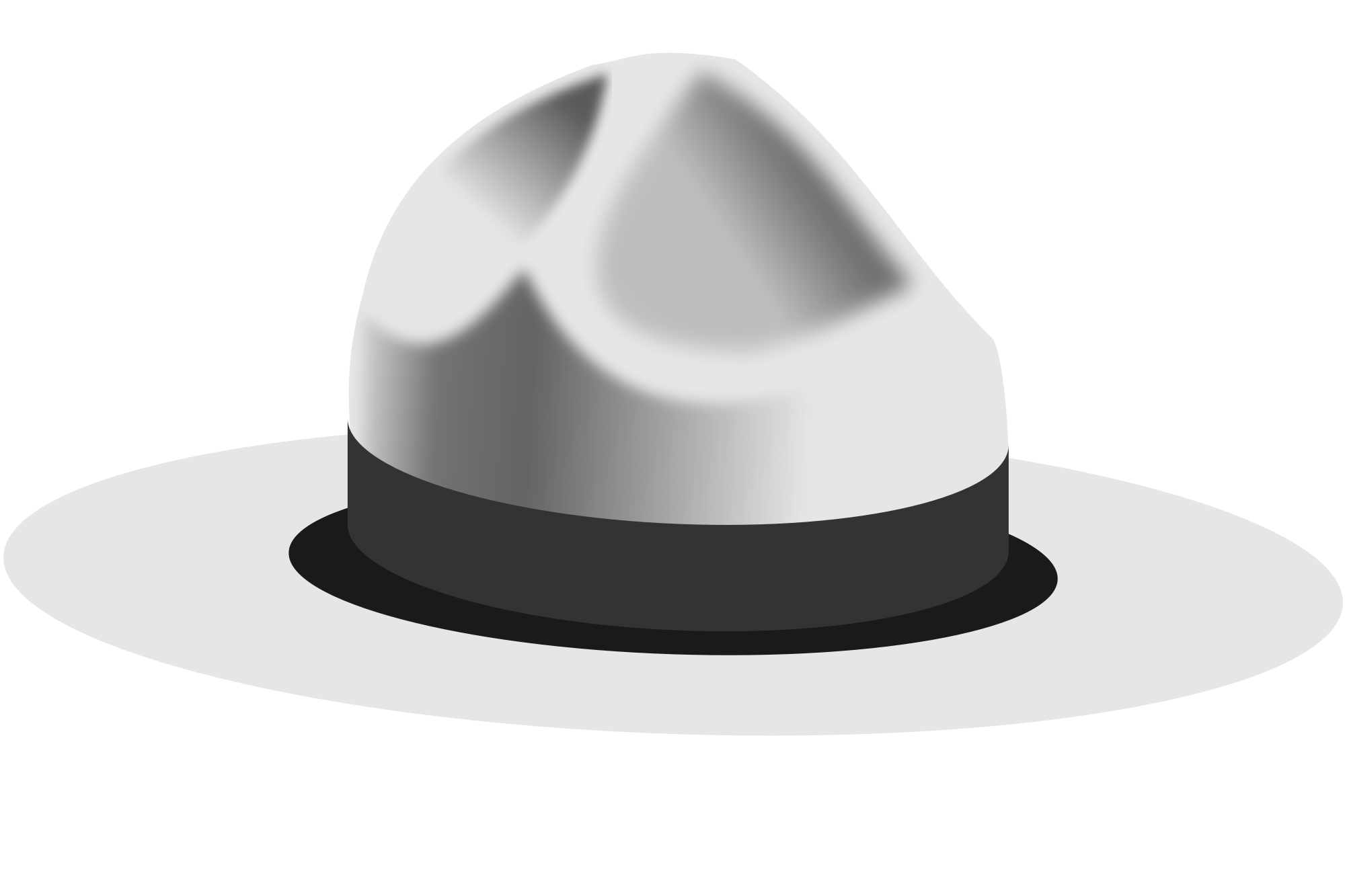 Hat svg black and white. File campaign wikimedia commons
