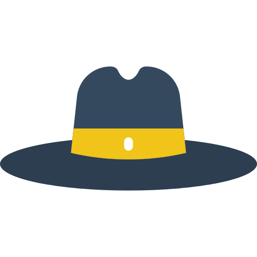 Hat svg fedora. Png icon repo free