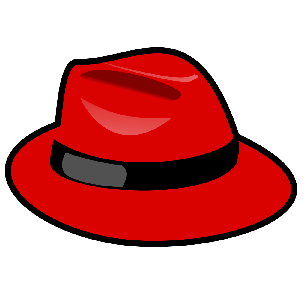 Hat svg fedora. File red wikipedia filered
