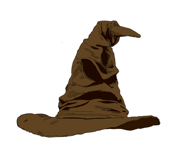 Svg silhouette harry potter. Hat pictures and