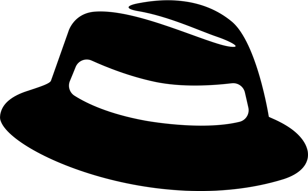 Hat svg houndstooth. Big fedora png icon