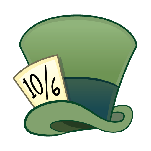 Hat svg mad hatter. Template for royal icing