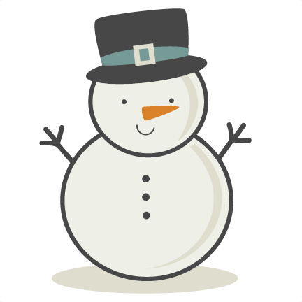 Hat svg snow man. Snowman cutting file winter
