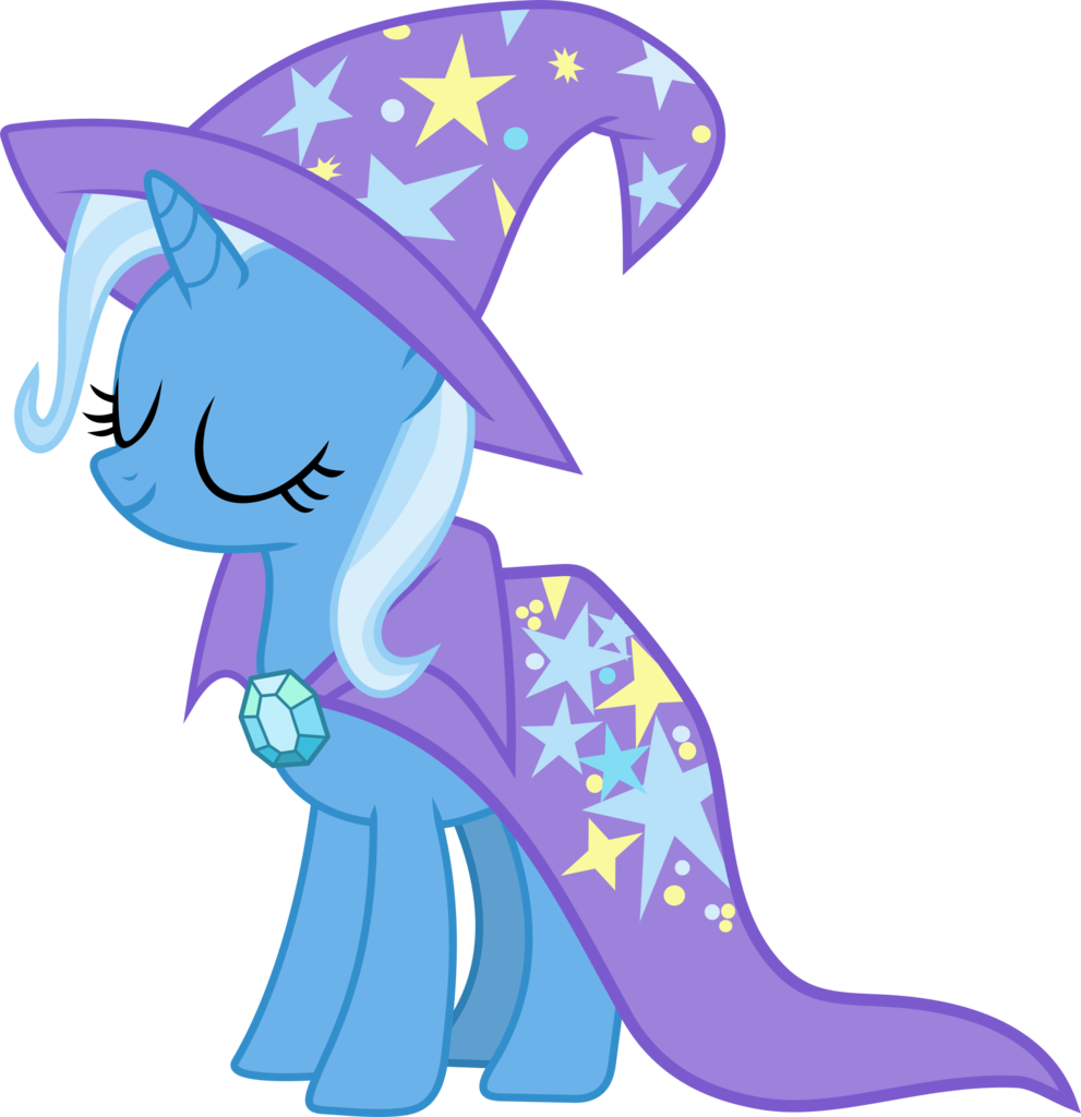 Trixie vector hat. Artist frownfactory cape