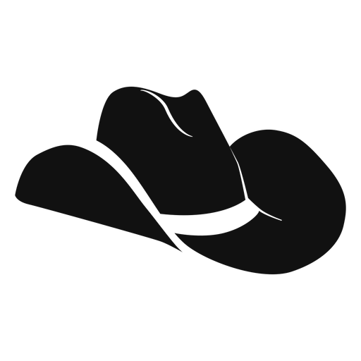 Hat svg western. Flat icon transparent png