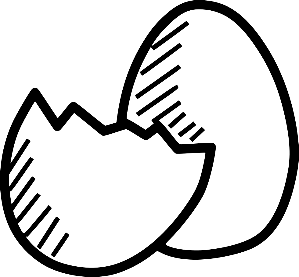 hatch drawing egg