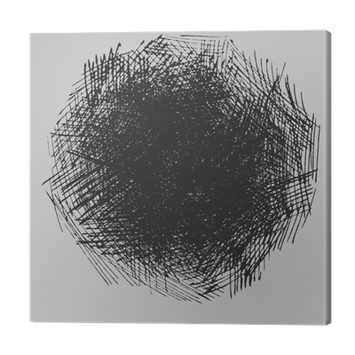 Hatch drawing scribble. Rough hatching texture canvas