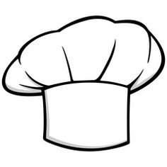 Hats clipart bakery. Chefs hat drawing at