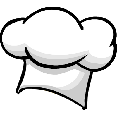Cartoon chef hat png. Transparent stickpng clipart