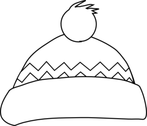 Hats clipart black and white. Hat clip art at