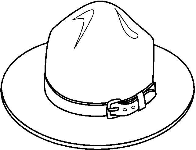 Hats clipart black and white. Luxury of hat letter