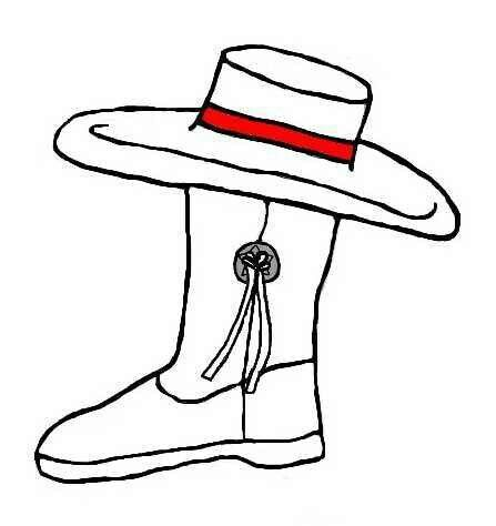 Hats clipart drill team. The best dance images