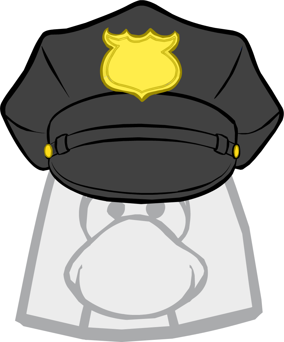 Hats clipart security guard. Hat club penguin wiki