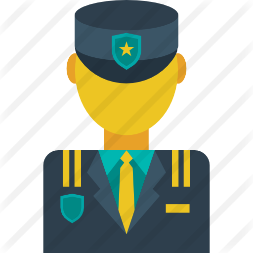 Hats clipart security guard. Free people icons icon