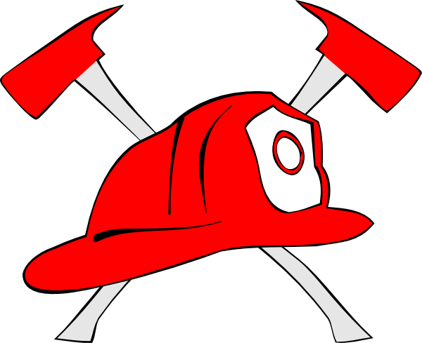 Hats drawing fire. Firefighter hat clipart panda