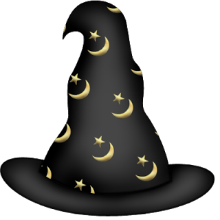 Hats drawing halloween. Witch hat clip art