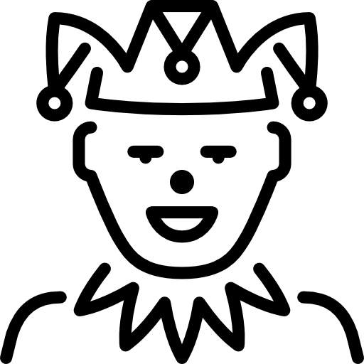 Hats drawing medieval. Jester fool clown hat