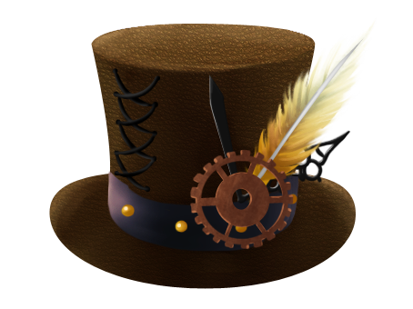 Hats drawing steampunk. Hat by chanmagination on