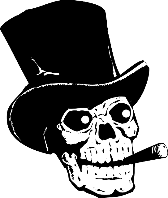 Hats drawing voodoo. Free image on pixabay