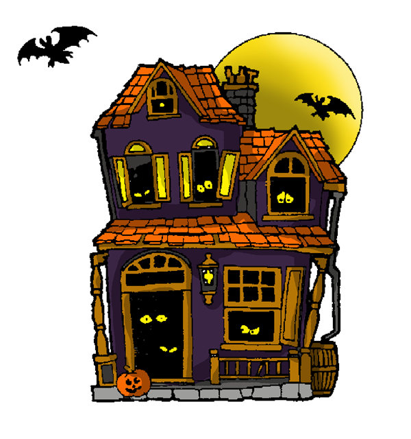 Haunted clipart haunted barn. Free house image download
