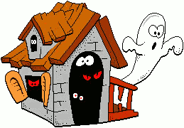 haunted clipart