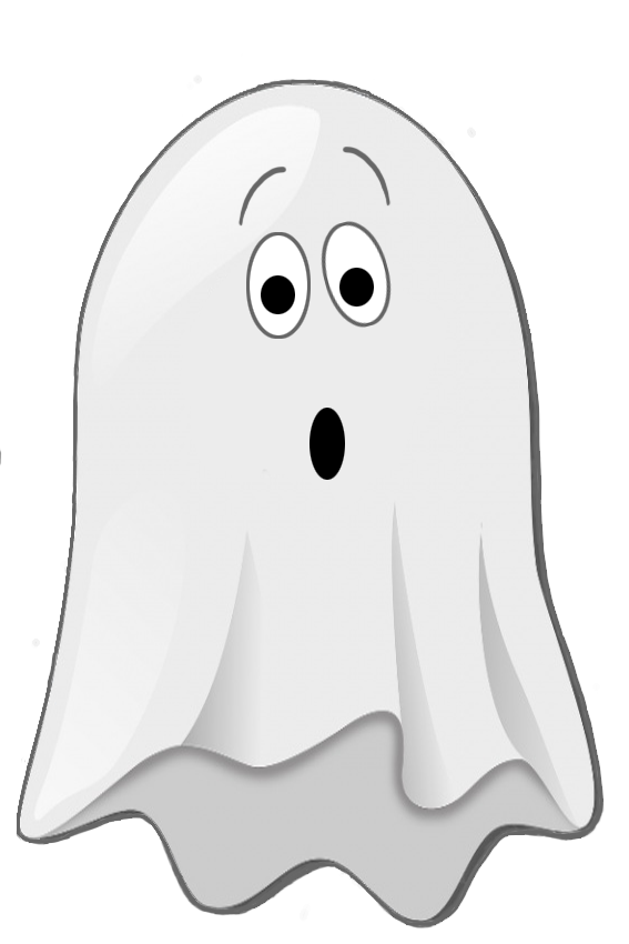 Ghost clip playground. Happy halloween clipart scared