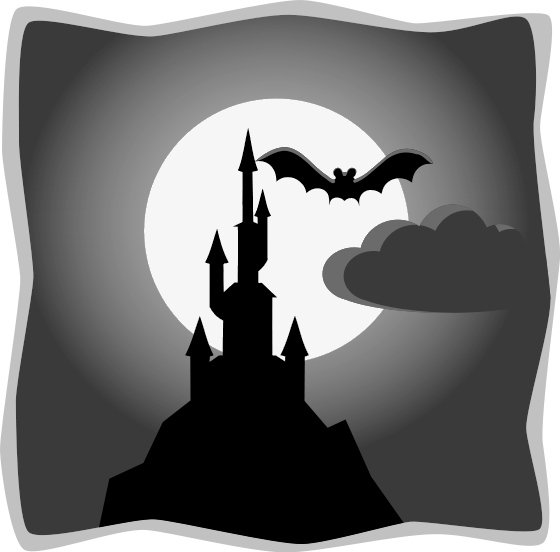 Haunted clipart spooky story. Free house public domain