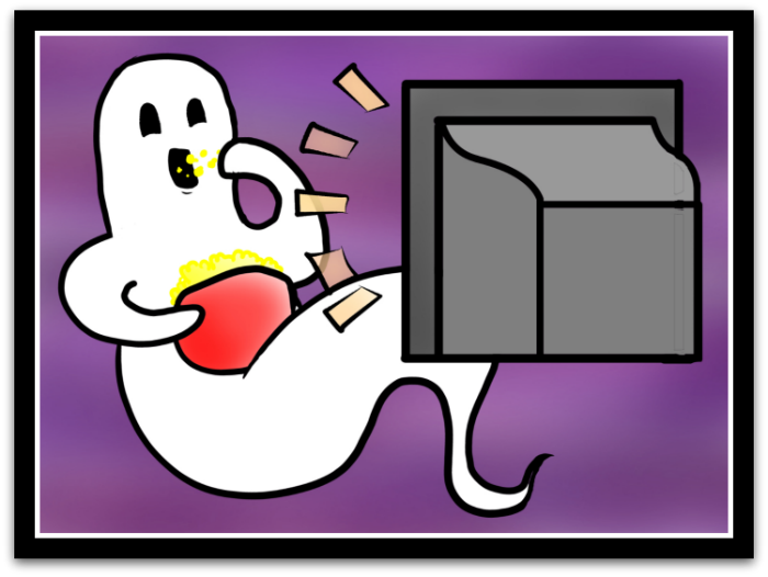 Haunted clipart spooky story. Real estate blog