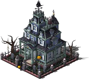 Haunted house png. Image large empires allies