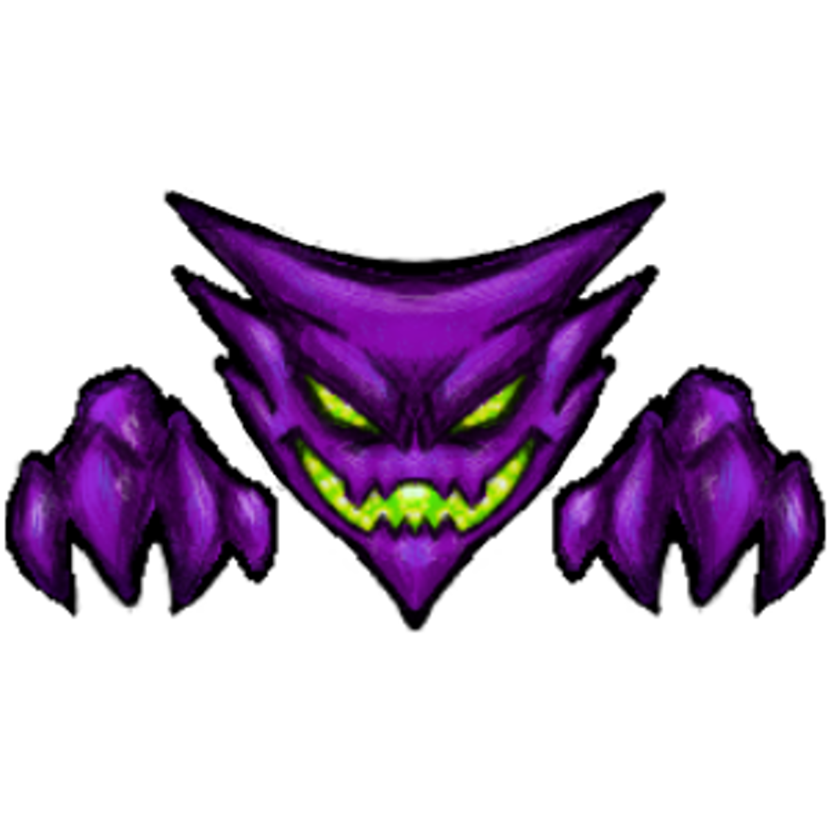 Haunter drawing poemon. Ghost type tag on