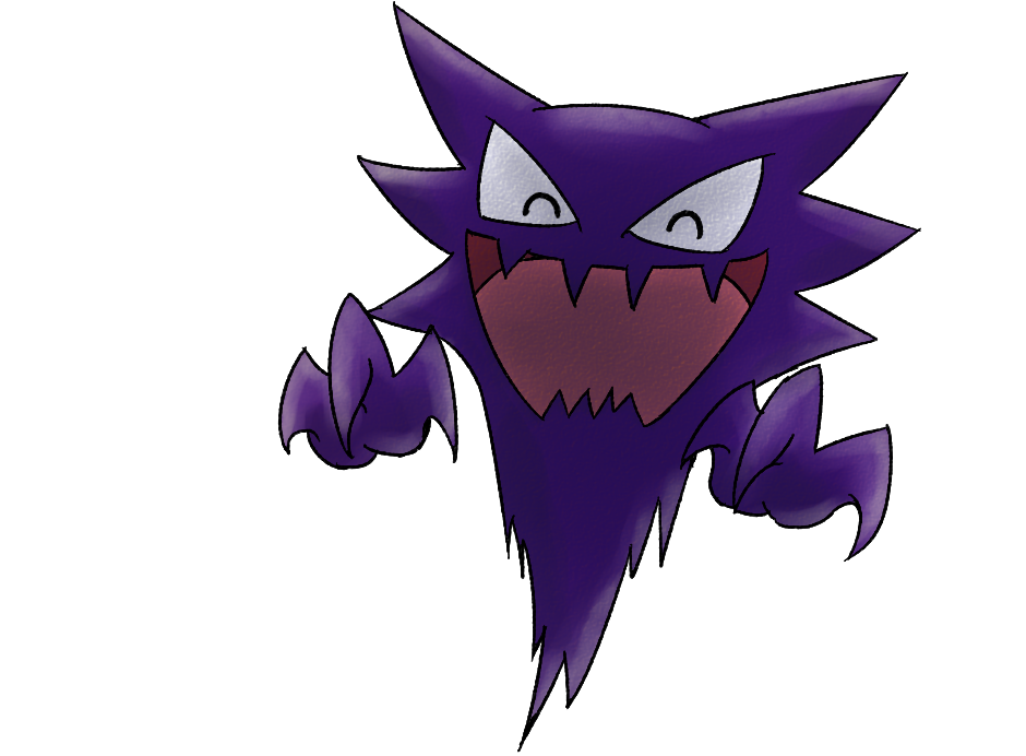 Transparent haunter. Vp pok mon searching