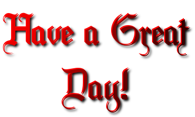 Have a great day png. Free good transparent images